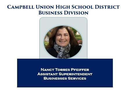 C.U.H.S.D. Assistant Superintendent of Business Services Nancy Torres Pfeiffer