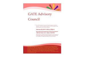 Gifted Advisory Meeting