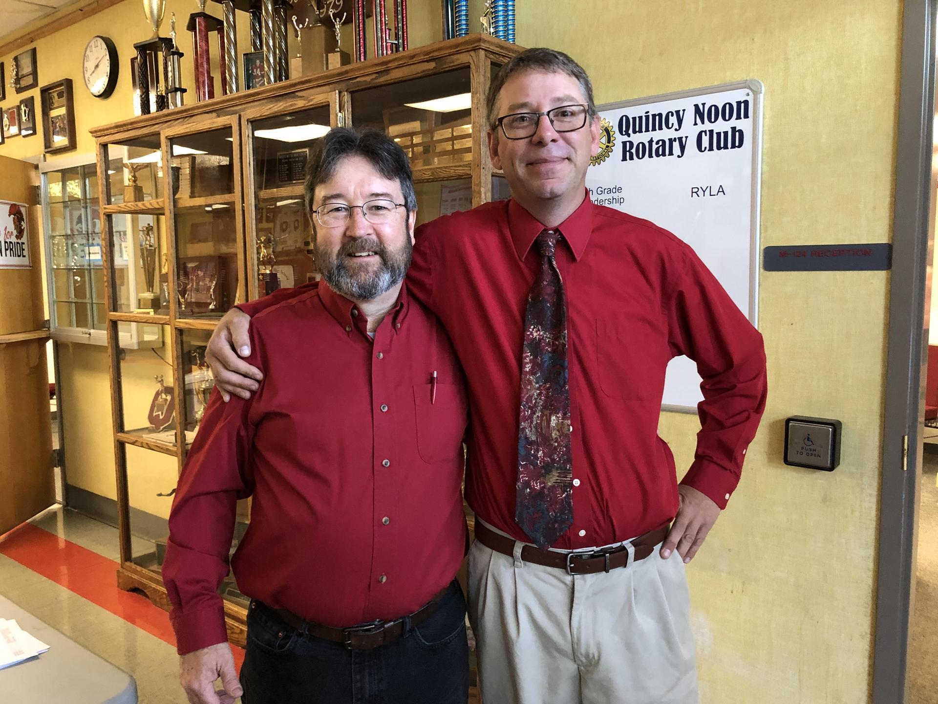 Mr. Hintz and Mr. McMorrow