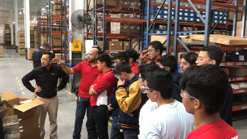 Vanguard Academy Robotics students Attend Manufacturing Day Tour of Royal Technologies in Mission! Featured Photo