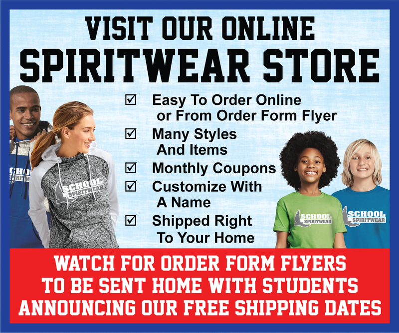 Spirit wear is now available! Thumbnail Image
