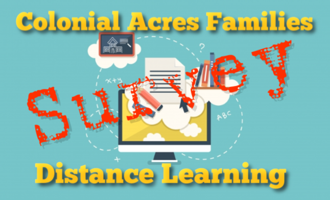 Distance Learning Survey Featured Photo