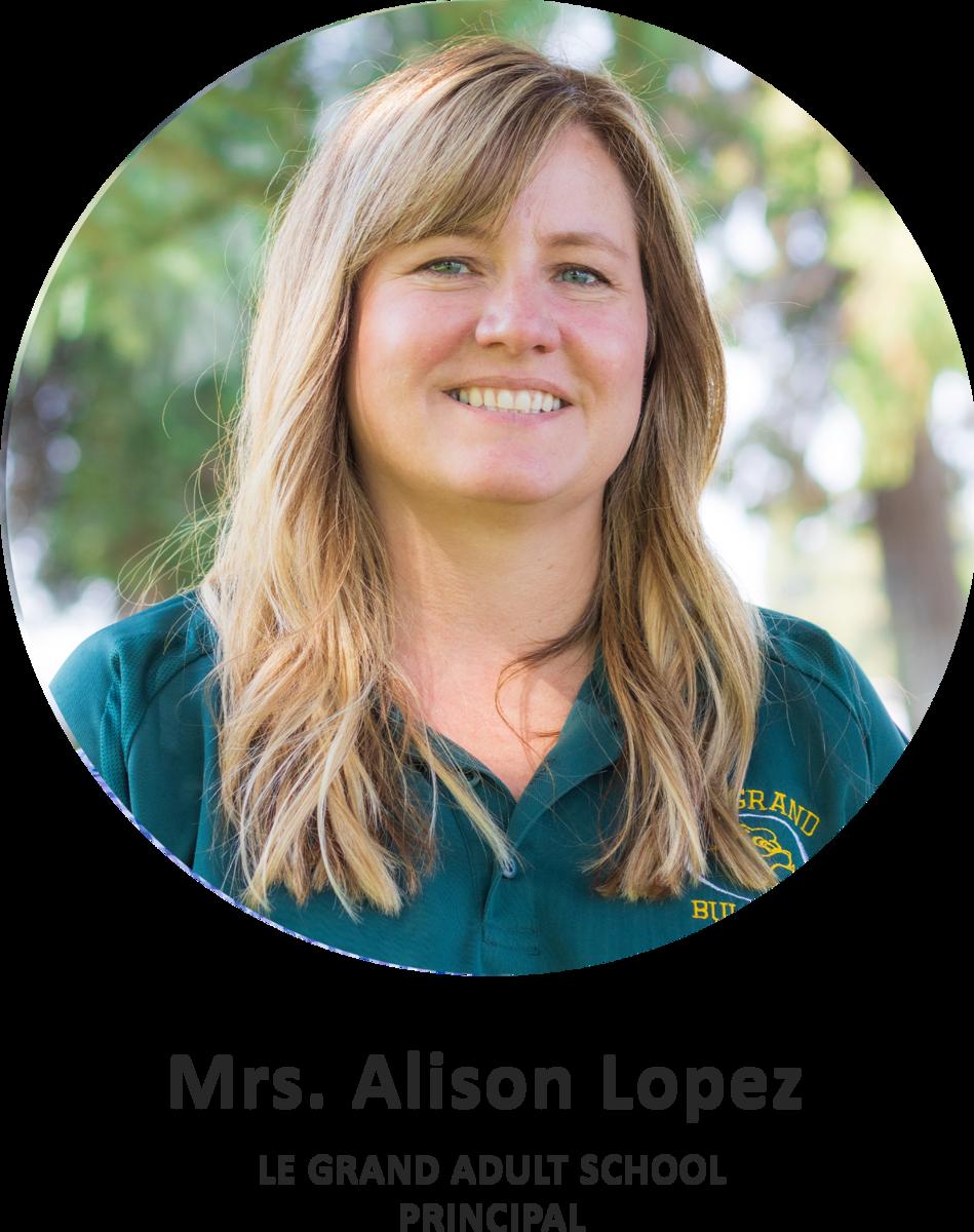 Mrs. Alison Lopez Title Card