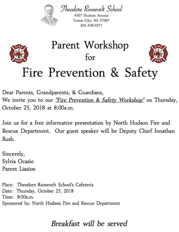 Fire Prevention Invitation Flyer