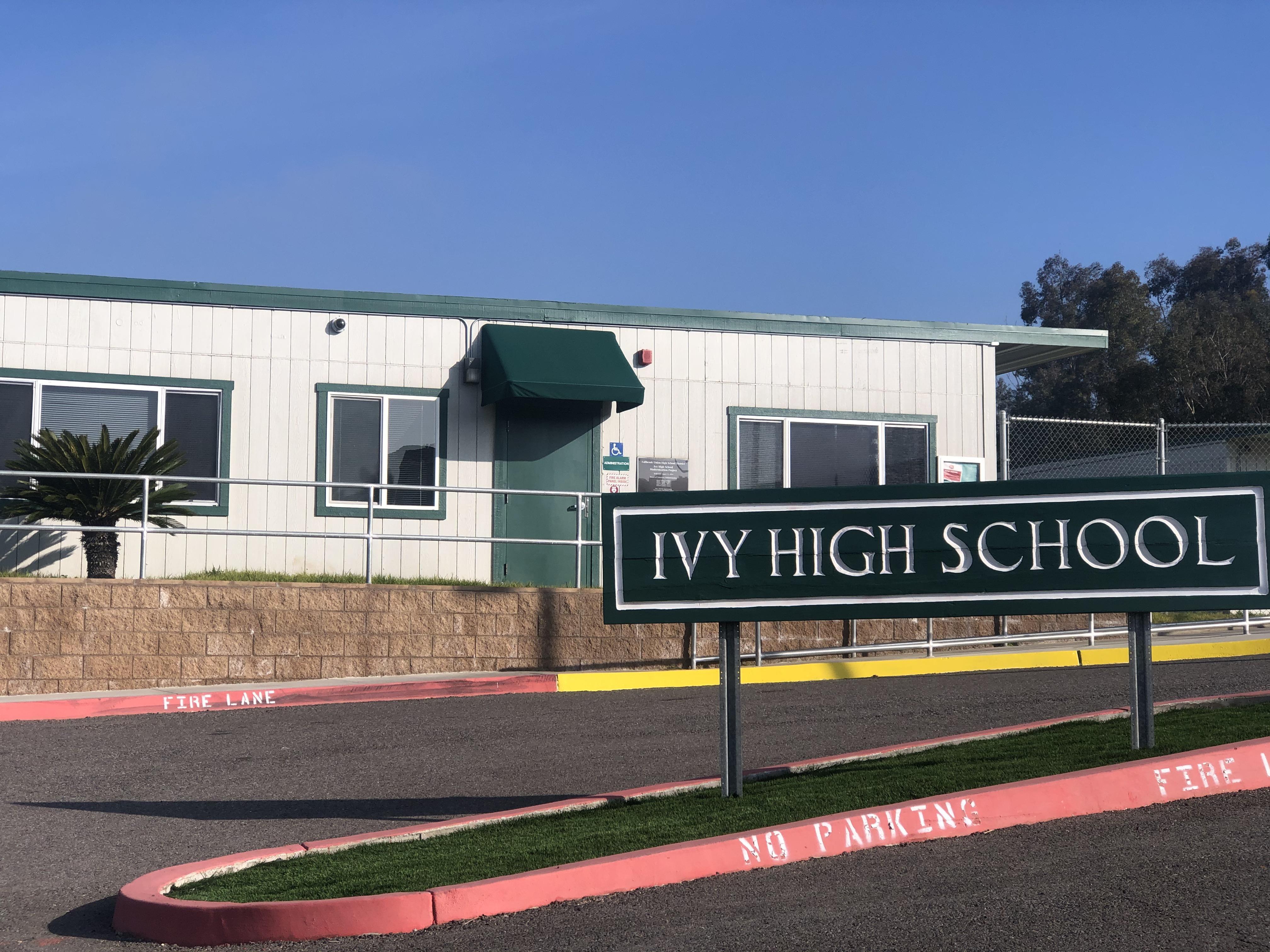 Ivy Entrance