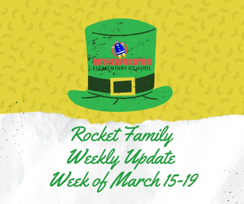 Rocket Family Weekly Update - March 15-19 Featured Photo