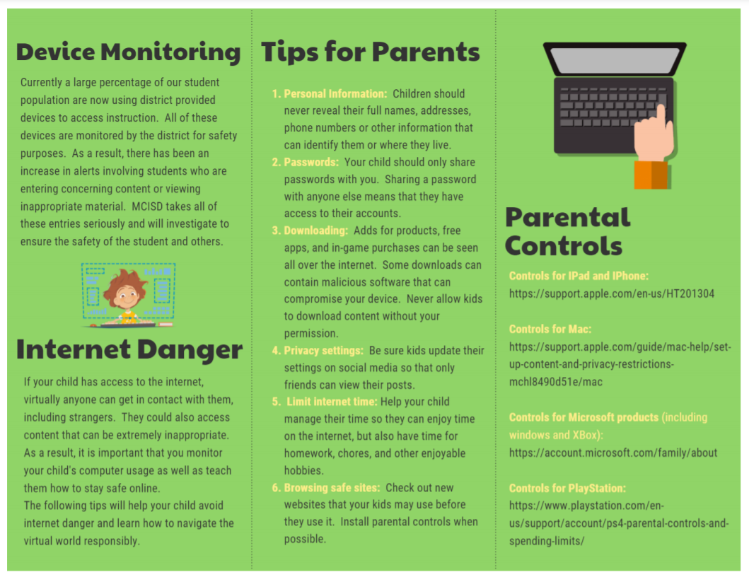 Internet Safety Tips in English page 2