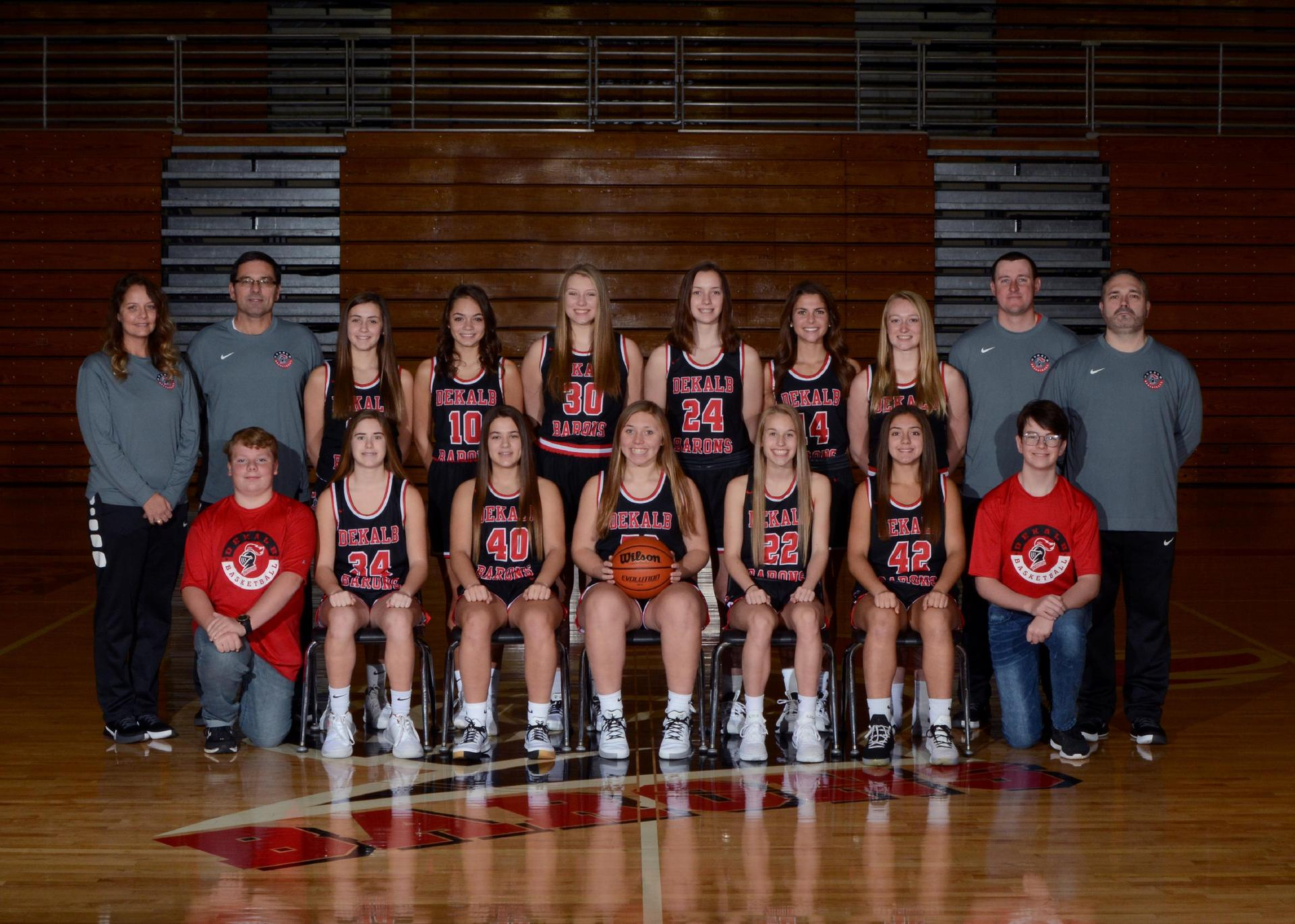 2019-2020 Lady Baron Basketball