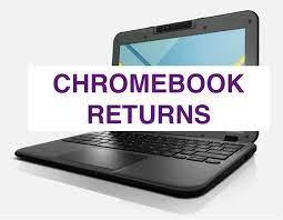 Parents please return school Chromebooks and chargers in June Featured Photo